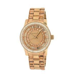 MK baguette Rose Gold watch!
